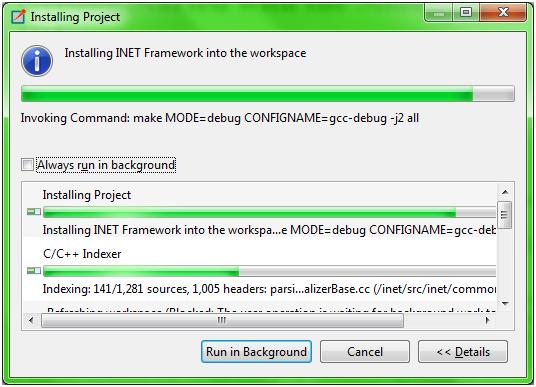 INET Installation Step 4