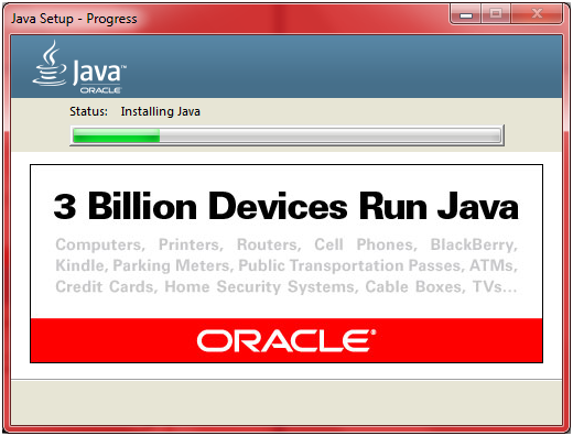 JDK Installation Step 11