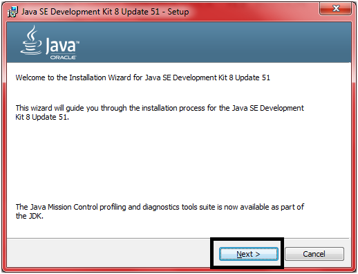 JDK Installation Step 7