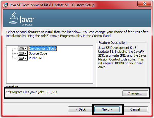 JDK Installation Step 8