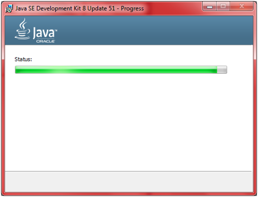 JDK Installation Step 9